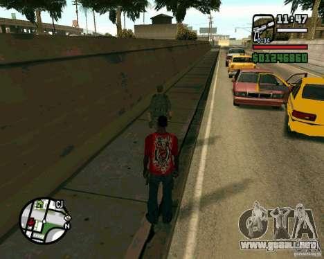Soldados iraquíes para GTA San Andreas sucesivamente de pantalla