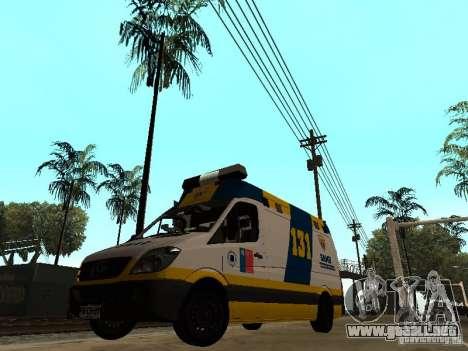 Mercedes-Benz Sprinter Ambulancia para GTA San Andreas