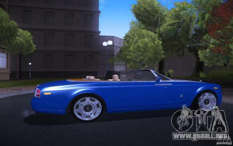 Rolls-Royce Phantom Drophead Coupe para la visión correcta GTA San Andreas