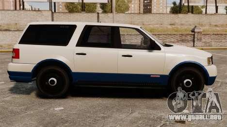 Policía Landstalker ELS para GTA 4 left