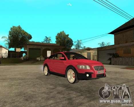 VOLVO C 30 T5 DEL 2008 para la visión correcta GTA San Andreas