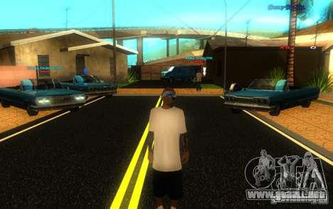 Nuevas texturas de El Corona para GTA San Andreas quinta pantalla
