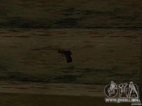 Armas nacionales Pak para GTA San Andreas novena de pantalla