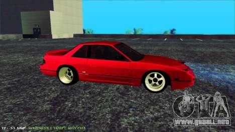 Nissan Onivia para GTA San Andreas left