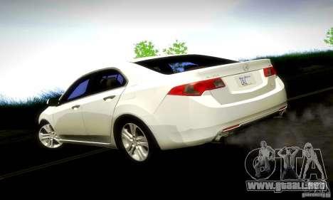 Acura TSX V6 para GTA San Andreas left