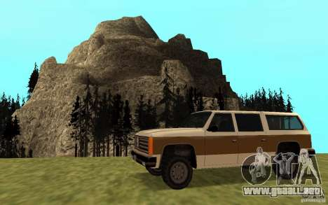 Un ranchero del FBI civil para GTA San Andreas left