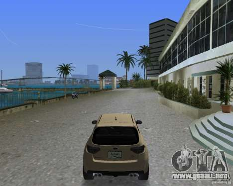 Subaru Impreza WRX STI para GTA Vice City left