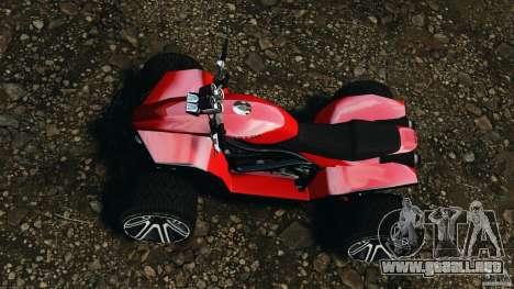 ATV PCJ Sport para GTA 4 visión correcta