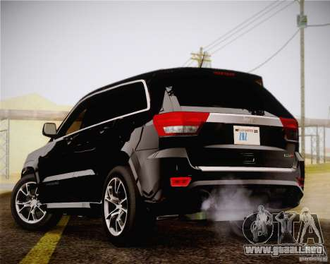 Jeep Grand Cherokee SRT-8 2012 para GTA San Andreas left