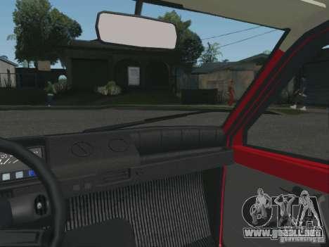 Oka VAZ 1111 para GTA San Andreas vista hacia atrás