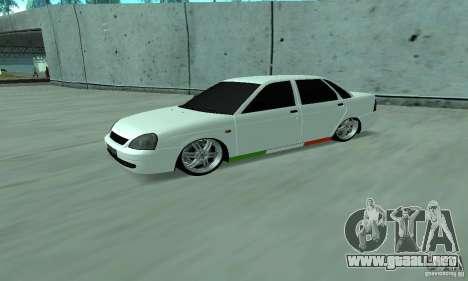 Lada Priora Italia para GTA San Andreas