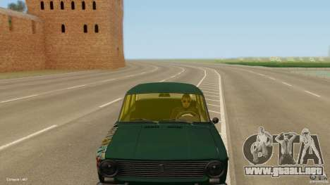 VAZ 2101 baja & Classic para la visión correcta GTA San Andreas