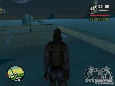 Mercenario acosador en la nueva kombeze para GTA San Andreas tercera pantalla