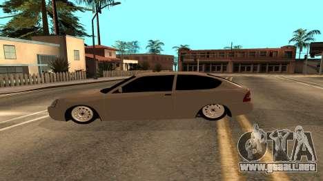 LADA Priora 2172 para la visión correcta GTA San Andreas