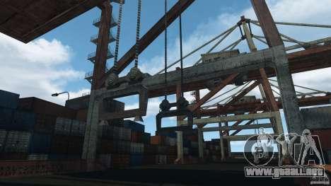 Tokyo Docks Drift para GTA 4 quinta pantalla