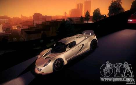 Hennessey Venom GT 2010 V1.0 para vista inferior GTA San Andreas
