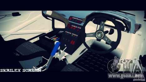Nissan 380sx BenSpora para GTA 4 vista hacia atrás