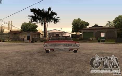 Chevrolet Impala 1960 para la visión correcta GTA San Andreas