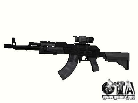 Armas de la COD MW 2 para GTA San Andreas sexta pantalla