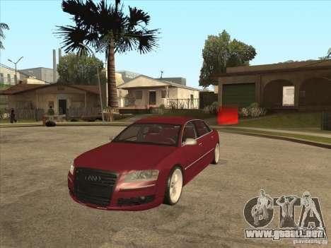 Audi A8 Switze para GTA San Andreas