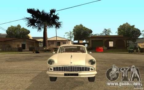 Moskvitch 423 m ambulancia para la visión correcta GTA San Andreas