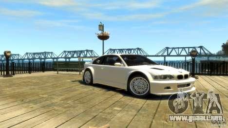BMW E46 M3 GTR Sport para GTA 4 visión correcta