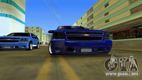 Chevrolet Tahoe 2011 para GTA Vice City visión correcta