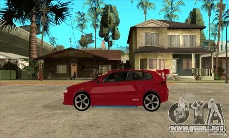 Alfa Romeo 147 para GTA San Andreas left