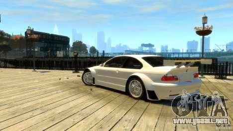 BMW E46 M3 GTR Sport para GTA 4 left