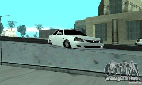 Lada Priora Low para visión interna GTA San Andreas