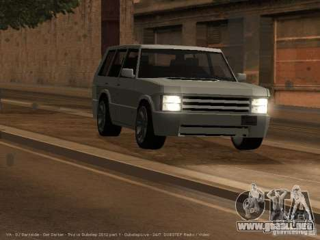 New Huntley para GTA San Andreas left