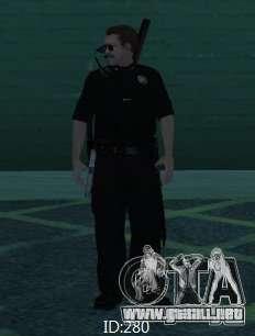 Nuevos aspectos SAPD para GTA San Andreas segunda pantalla