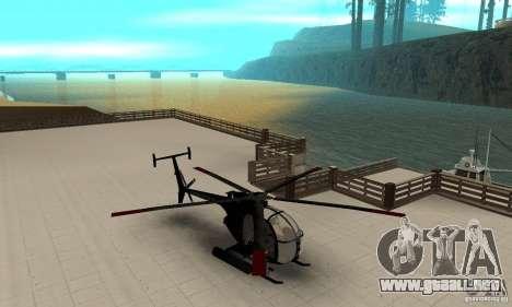 AH-6C Little Bird para GTA San Andreas