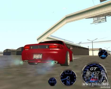 Mitsubishi 3000gt para GTA San Andreas vista posterior izquierda