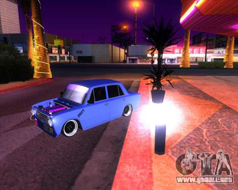 VAZ 2101 Drift Car para GTA San Andreas vista posterior izquierda