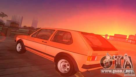 Volkswagen Golf Mk1 GTI para GTA Vice City left