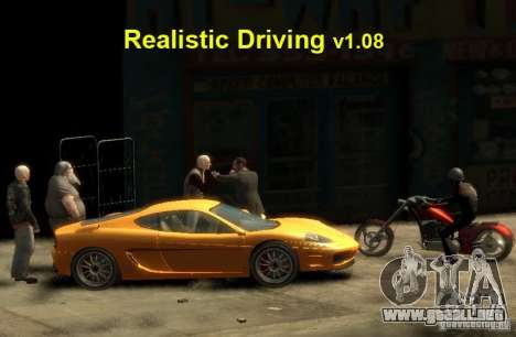 Conducción realista para GTA 4