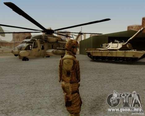 Tom Clancys Ghost Recon para GTA San Andreas sexta pantalla