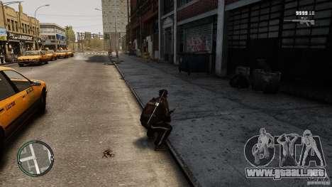 Equip Gun .Net para GTA 4 adelante de pantalla
