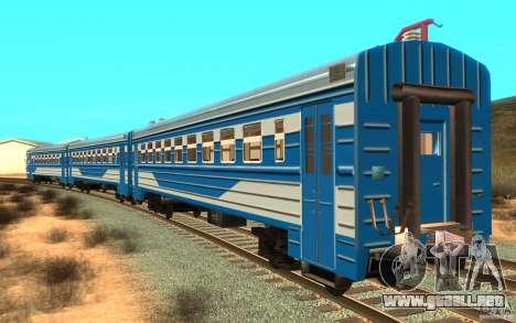 Tren ER2-K-1321 para GTA San Andreas left