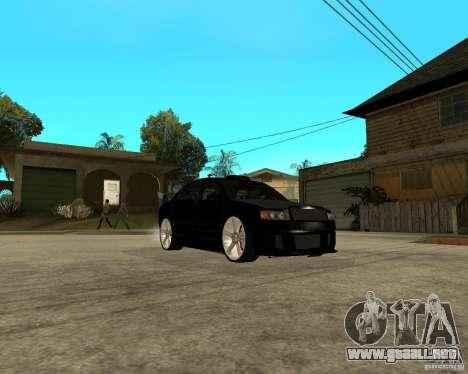 Skoda Superb HARD GT Tuning para visión interna GTA San Andreas
