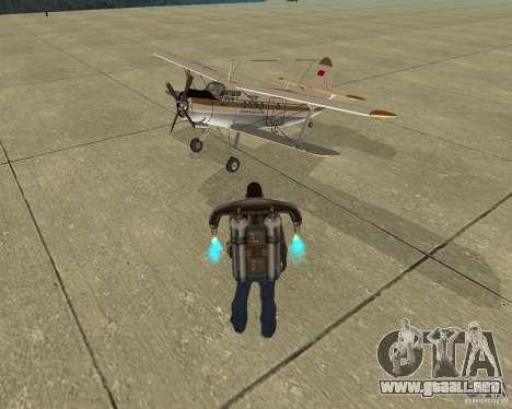 Transporte aéreo Pak para el motor de GTA San Andreas