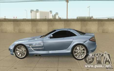Mercedes-Benz SLR McLaren 2005 para GTA San Andreas left