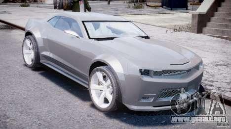 Chevrolet Camaro 2009 para GTA 4 visión correcta