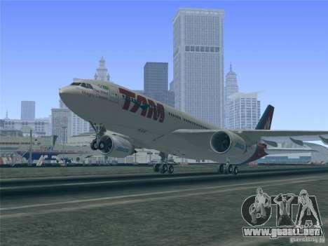 Airbus A330-223 TAM Airlines para el motor de GTA San Andreas