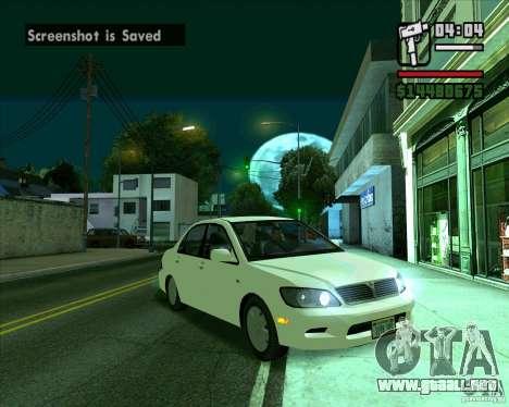 Mitsubishi Lancer E.S para GTA San Andreas