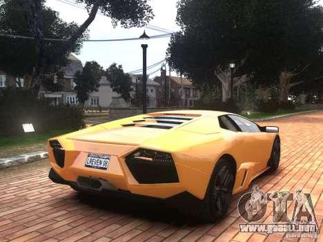 Lamborghini Reventon 2008 para GTA 4 left