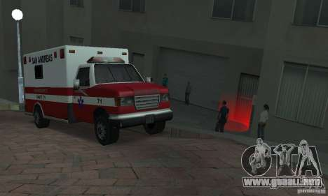 Calle lucha v2 para GTA San Andreas