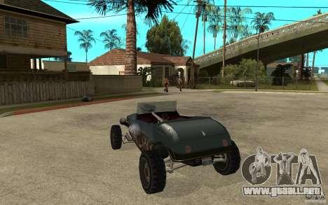 Deuce Brutal Legend para GTA San Andreas vista posterior izquierda