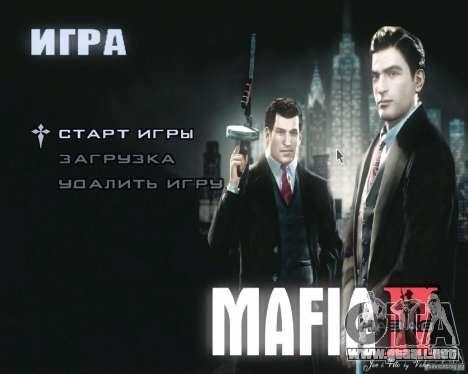 Pantallas de carga de Mafia 2 para GTA San Andreas tercera pantalla